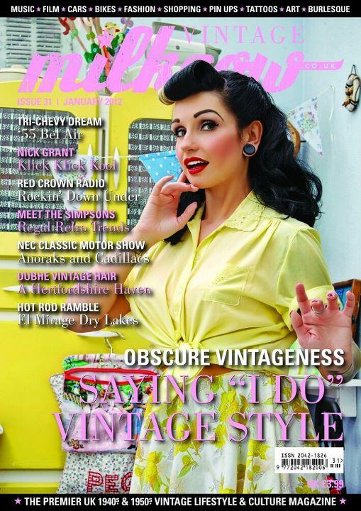 Milkcow Vintage - covergirl - Solene