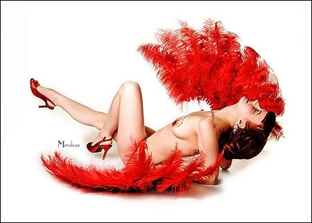 Miss Phoenix - burlesque artist