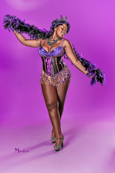 Violet Blaze - as Big Mama